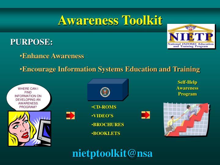 Awareness Toolkit