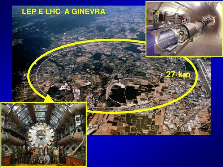 LEP E LHC  A GINEVRA