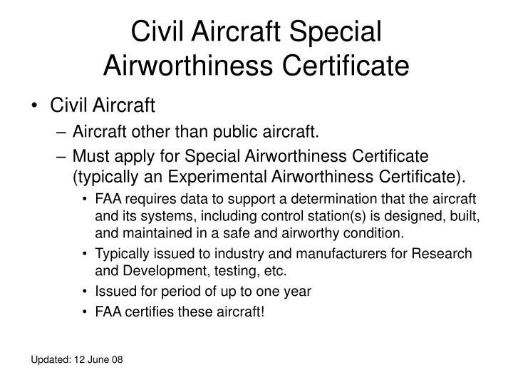 Civil Aircraft Special