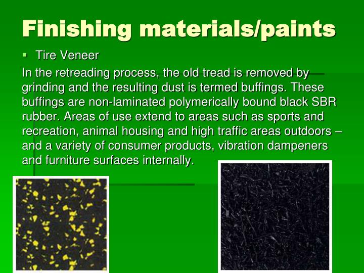 Finishing materials/paints