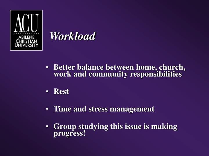 Workload