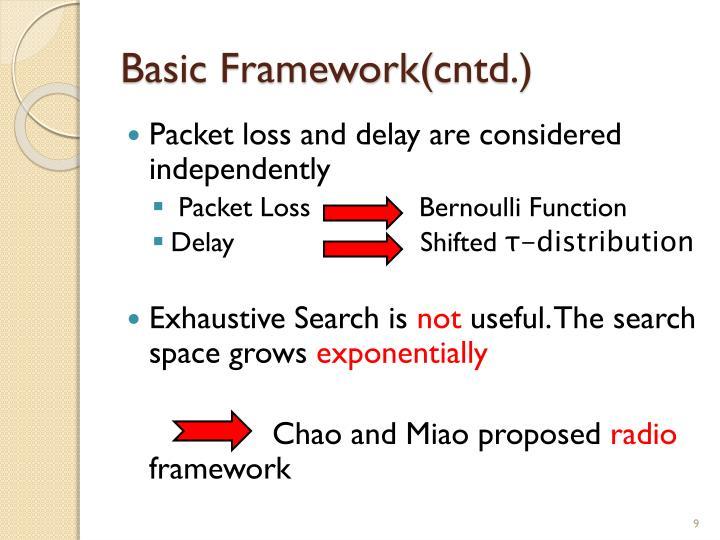 Basic Framework(