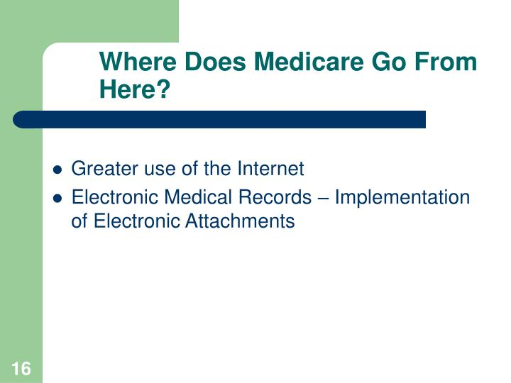 Where Does Medicare Go From Here?