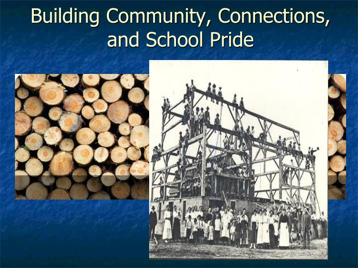 Building Community, Connections, and School Pride