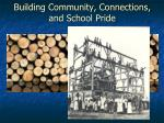 building community connections and school pride