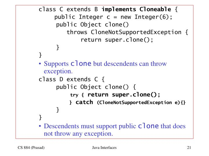 class C extends B