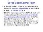 boyce codd normal form