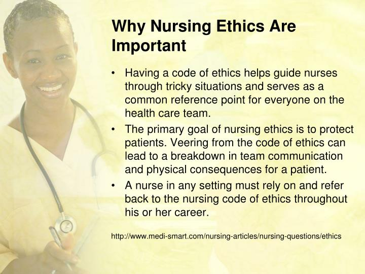 why nursing is important This video gives you a snapshot of why the world needs nurses nursing is possibly one of the most important professions in the world yet, nurses continue t.