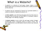 what is a website