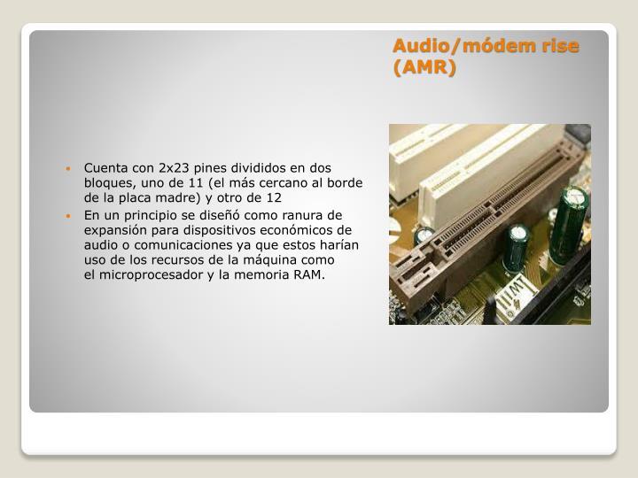 Audio/módem