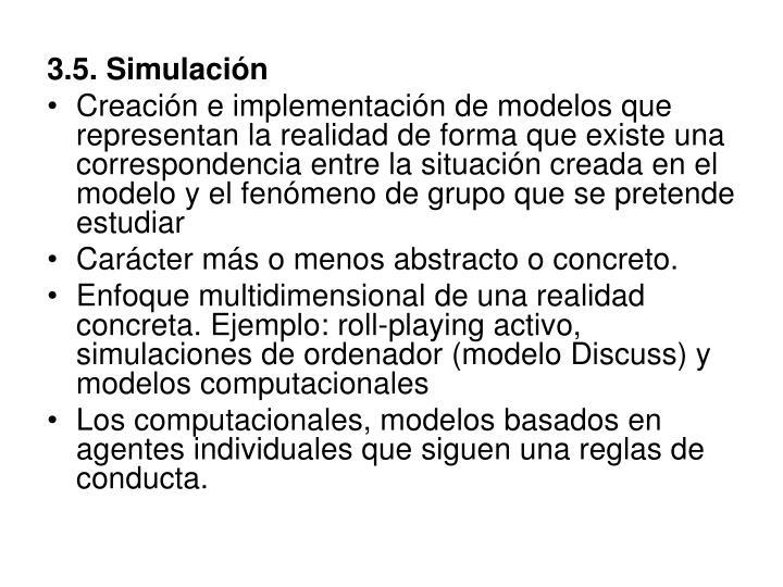3.5. Simulación