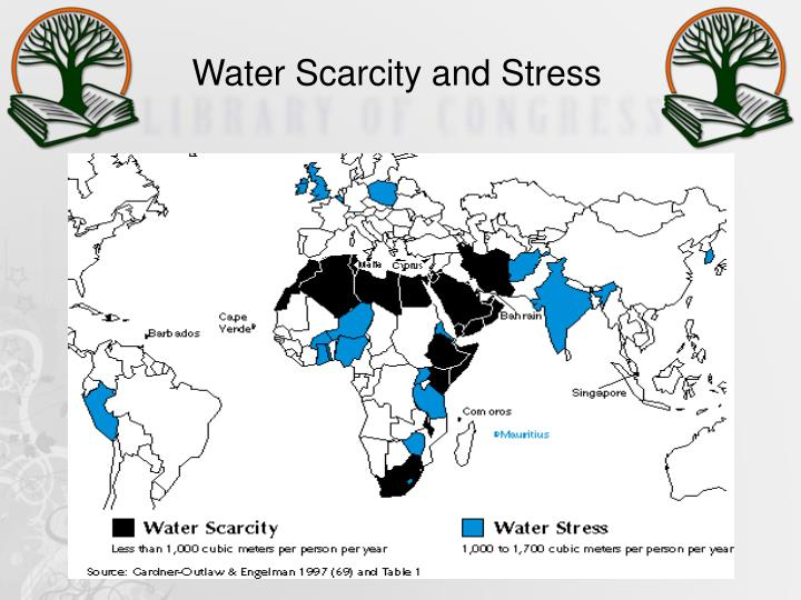 Water Scarcity and Stress