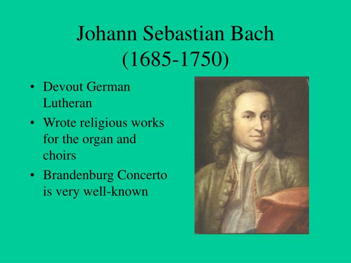 a biography of johann sebastian bach greatest western musical history composer A biography of johann sebastian bach, greatest western musical history composer pages 4 words 817 view full essay more essays like this: fugue in.