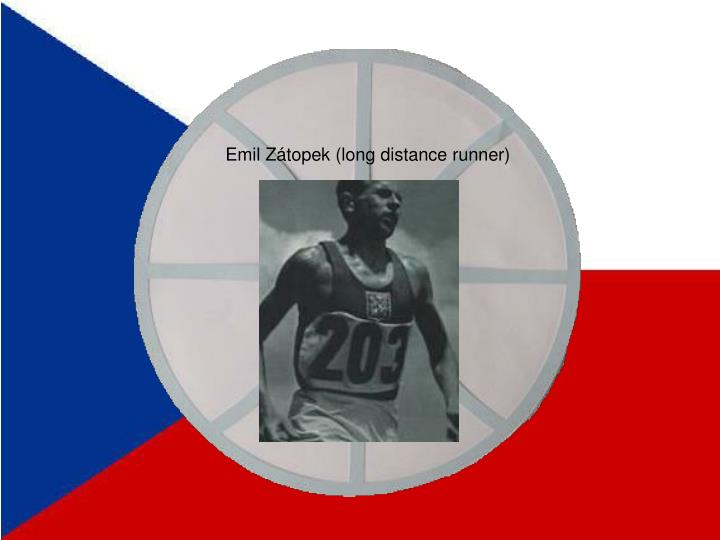 Emil Zátopek (long distance runner)