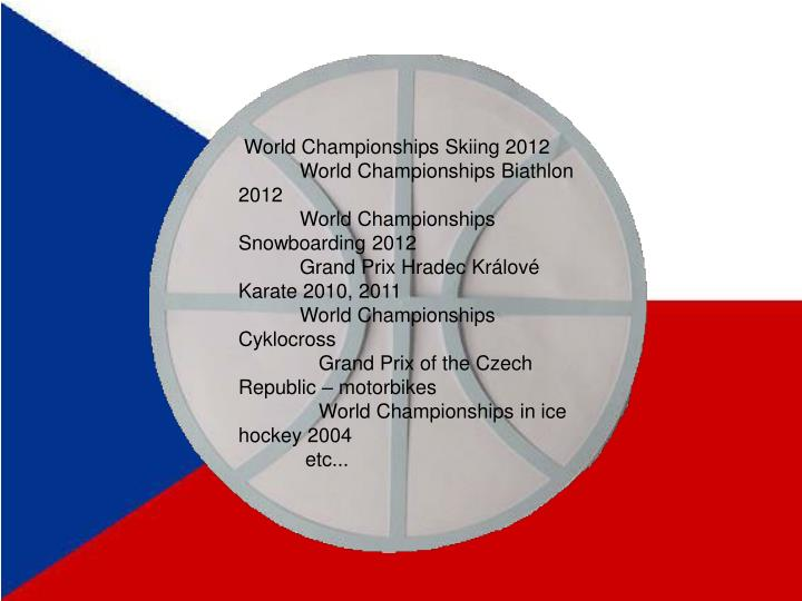 World Championships Skiing 2012