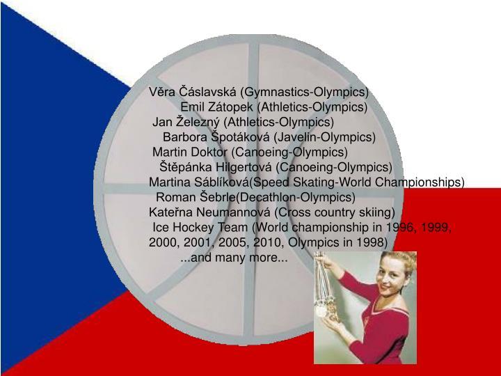 Věra Čáslavská (Gymnastics-Olympics)