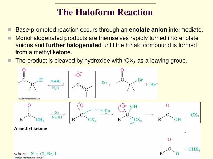 The Haloform Reaction
