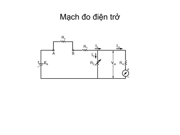 Mạch đo điện trở