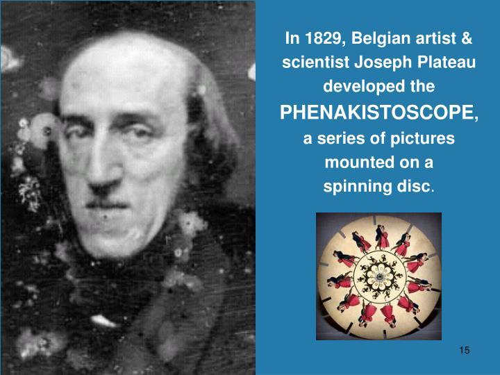 In 1829, Belgian artist &