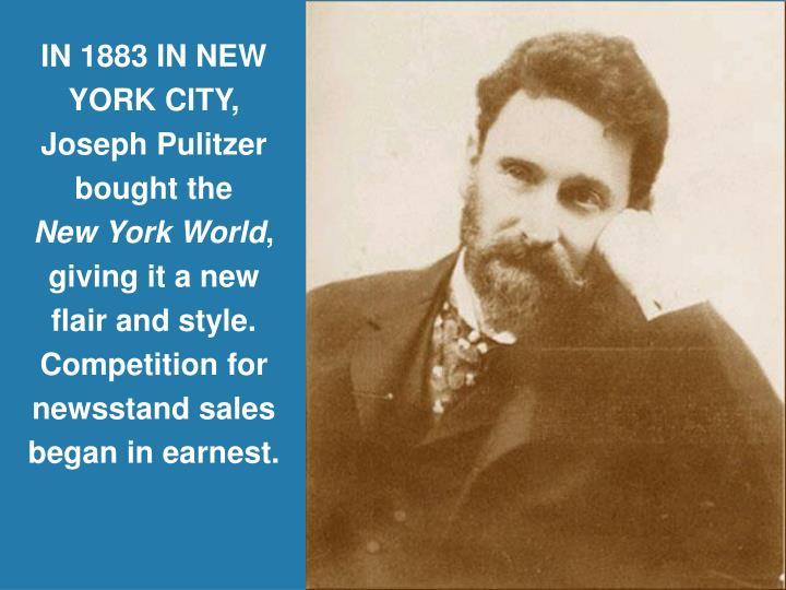 IN 1883 IN NEW