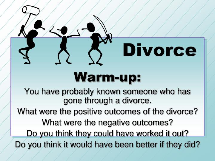 Dating someone who is going through a divorce