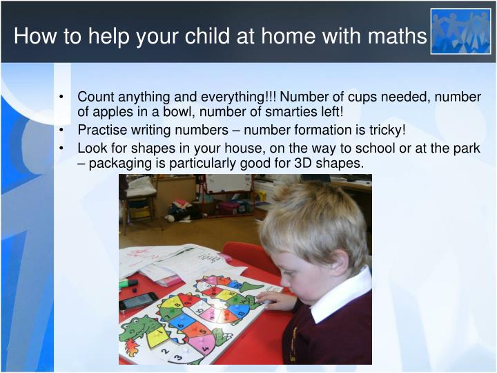 How to help your child at home with maths