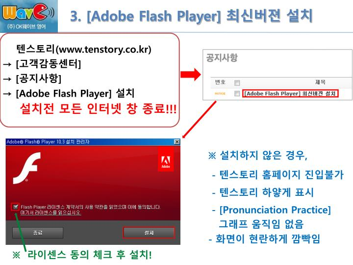 3. [Adobe Flash Player]