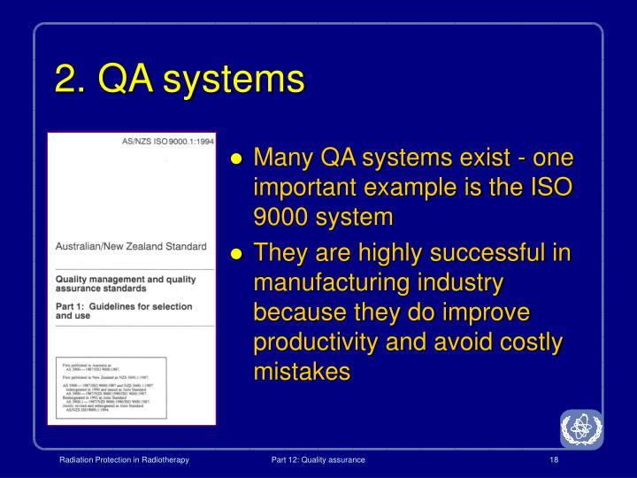2. QA systems