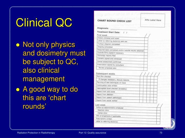 Clinical QC
