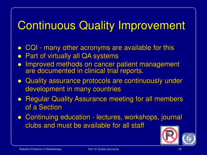 Continuous Quality Improvement