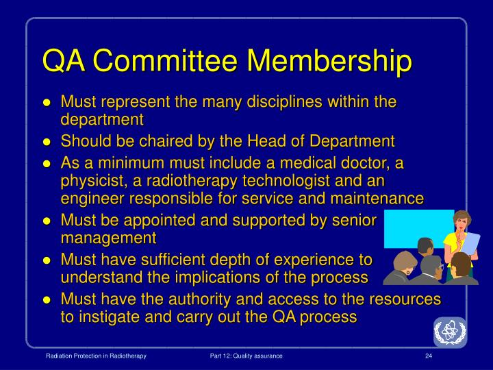 QA Committee Membership