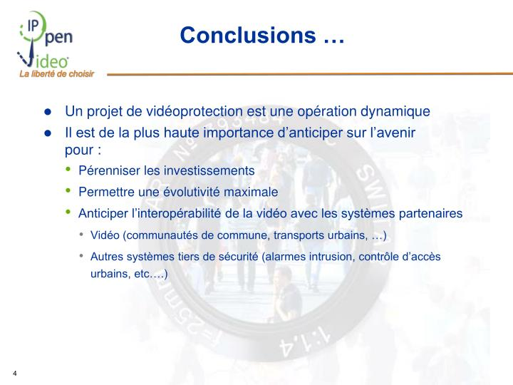 Conclusions …