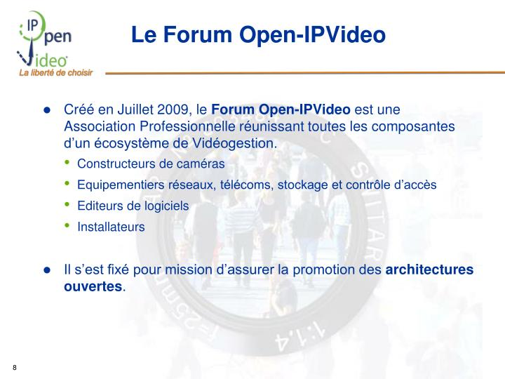 Le Forum Open-IPVideo