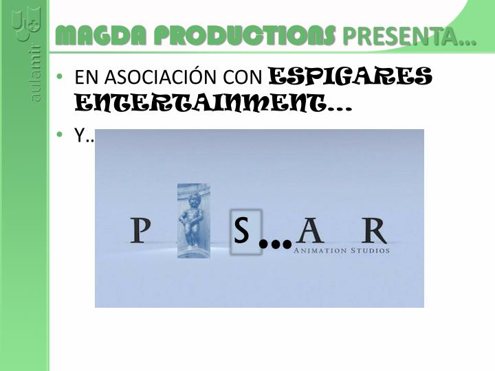 Magda productions presenta