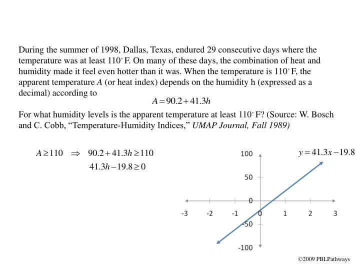 During the summer of 1998, Dallas, Texas, endured 29 consecutive days where the temperature was at least 110