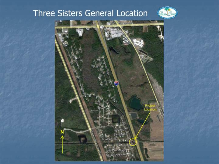 Three Sisters General Location