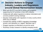 4 decisive actions to engage industry leaders and regulators around global harmonization issues