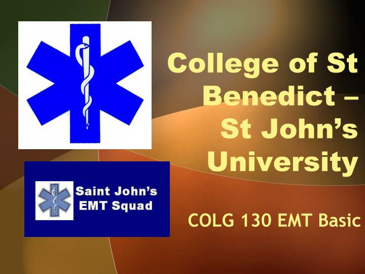 College of st benedict st john s university