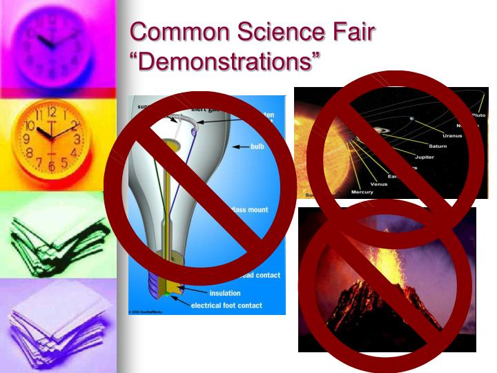"Common Science Fair ""Demonstrations"""
