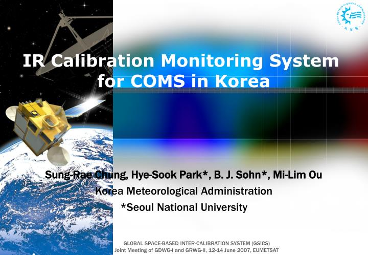 IR Calibration Monitoring System