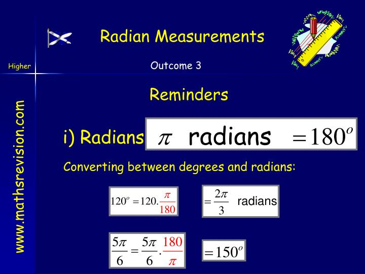 Radian Measurements