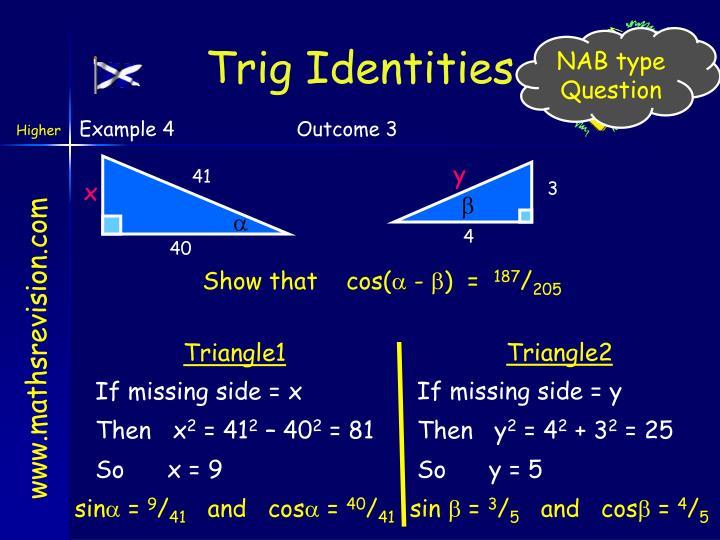 Trig Identities