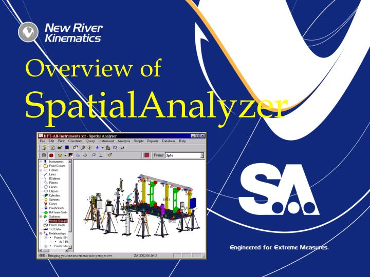 Overview of spatialanalyzer