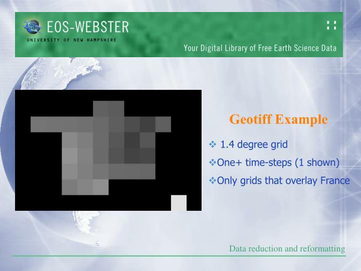 Geotiff Example