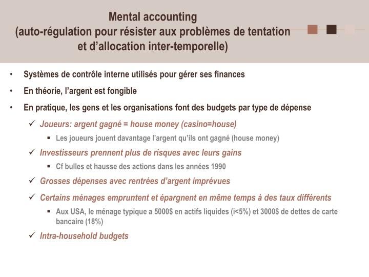 Mental accounting