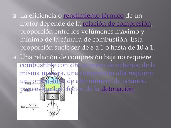 La eficiencia o