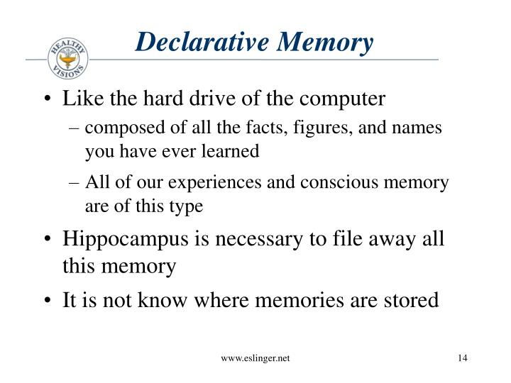 Declarative Memory