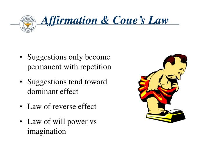 Affirmation & Coue's Law