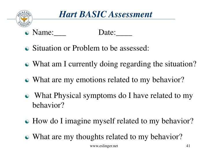 Hart BASIC Assessment