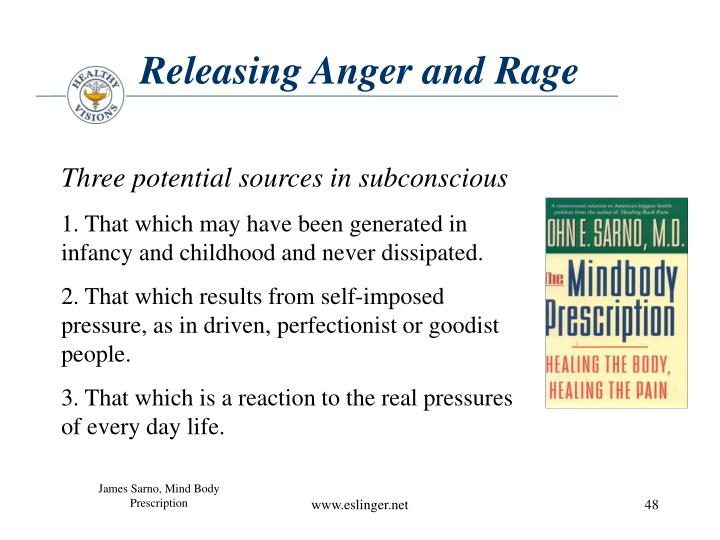 Releasing Anger and Rage